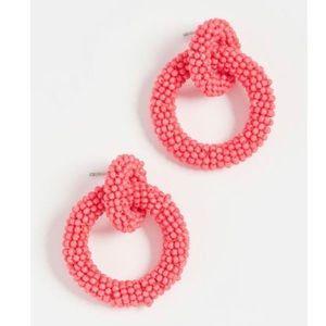 Baublebar Mini Emma Pink Hoop Earrings